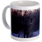 Whitetail Deer Mug on Cafepress
